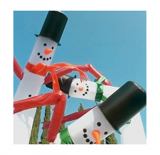 Sky Dancer 1-beinig Schneemänner
