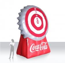 Action Game Kronkorken-Dart Coca Cola