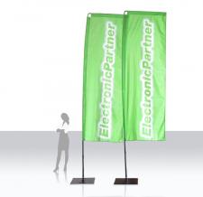 Beach Flag Corner - Electronic Partner