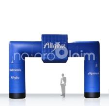 aufblasbarer Start-Zielbogen - Bogen Corner Allgäu