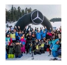 aufblasbarer Eingangsbogen - Werbebogen round - Mercedes