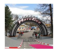 riesiger Torbogen aufblasbar - Bogen Round MotoGee