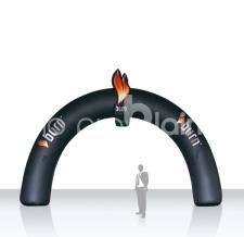 Aufblasbarer Werbebogen - Bogen Round Burn Energy