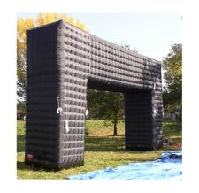 Zielbogen - Flachbogen Corner schwarz