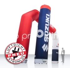 luftdichter aufblasbarer Bogen und Werbesäule - Pneu Bogen und Pneu Säule Suzuki
