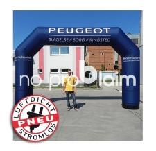 Torbogen aufblasbar luftdicht - Pneu Bogen Peugeot