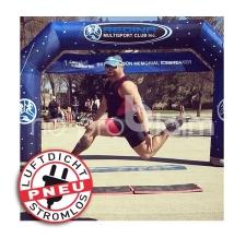 luftdichter aufblasbarer Zielbogen - Pneu Bogen Regina Multisport