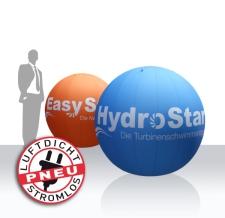 aufblasbare Riesenbälle nach Kundenwunsch bedruckt - Hydrostar