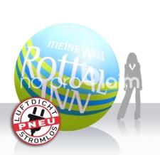 luftdichter Eventball / Konzertball aufblasbar - Rottal-Inn