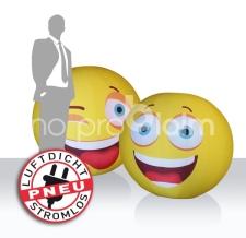 aufblasbare Riesenbälle luftdicht - Eventbälle Smiley