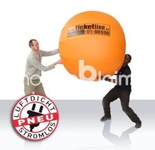 Konzertball aufblasbar (aufblasbar, luftdicht) - Ticketline