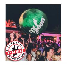 Aufblasbarer Eventball - mr. green
