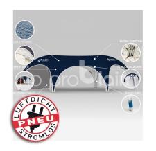aufblasbares riesiges Werbezelt/Promotionzelt - ohne Strom - Pneu Zelt HEXA Axion