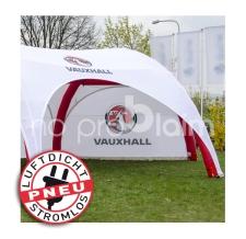 riesiger aufblasbarer Pavillon, Eventzelt, Marktzelt - Pneu Zelt HEXA vauxhall
