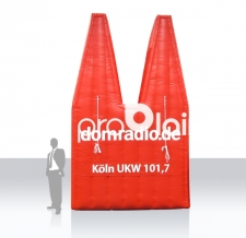Aufblasbares Logo - Domradio