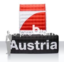 Aufblasbares Logo - Pro7 Austria
