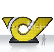 riesen Logo aufblasbar - Post Horn