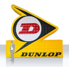 Aufblasbares XXL Logo - Dunlop