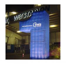Aufblasbares Riesen-Logo - DWS1