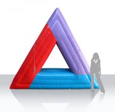 Aufgeblasenes großes Logo - Helvetia