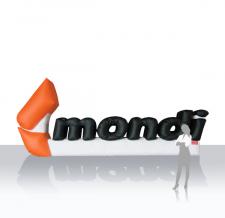 Aufblasbare Buchstaben - Mondi Logo xxl