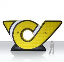 riesen Logo aufblasbar - Post