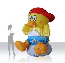 riesige aufblasbare Figur Ente - Maskottchen Ente H2O