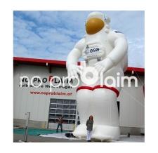 XXL Figuren und Maskottchen aufblasbar - riesiger ESA-Astronaut