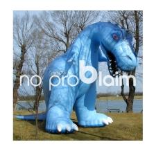 Riesiger aufblasbarer Dinosaurier Styrassic Park