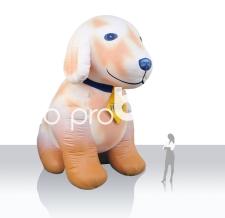 Luftgefülltes Maskottchen - Hakle Puppie
