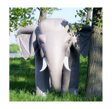 aufblasbarer Elefant als eyecatcher
