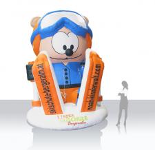 Skischul-Maskottchen Bergeralm