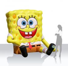 Aufblasbares Maskottchen - Sponge Bob