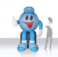 aufblasbares Objekt - Figur Jobby