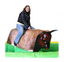 Miete Action Game Bullriding / Rodeo Bulle
