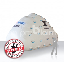 aufblasbarer Eisberg als Boje - Intersport X-Jam