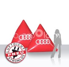 Werbebojen Audi