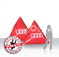 aufblasbare Werbebojen Audi