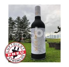 riesige aufblasbare Weinflaschen - luftdicht - Pneu Weinflasche scolaris
