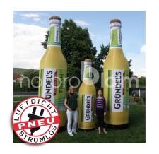riesige aufblasbare (luftdichte) Flaschen - Pneu Flaschen Gründel's