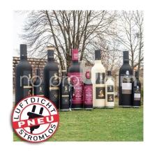 Pneu Flaschen - aufblasbare (luftdicht) Weinflaschen