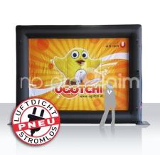 Promotion Rückwand - aufblasbare Rückwand - Rahmen aufblasbar ohne Gebläse, luftdicht - Pneu Rahmen Ugotchi