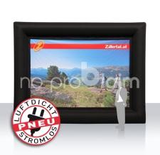 aufblasbare Werbewand luftdicht - Pneu Rahmen Zillertal Tourismus