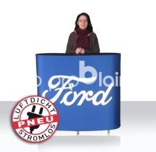 Info- und Verkaufstheke aufblasbar - Pneu Theke Ford