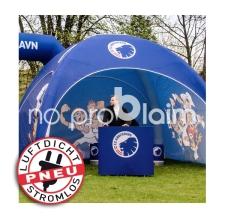 Eventtheke und Pneu Zelt - Pneu Theke FC Kobenhavn
