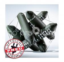 Luftdichtes Kunstobjekt - Borealis Peter Sandbichler - Pneumatischer Druckzylinder - Bildrechte liegen bei Staudinger-Stelzhammer