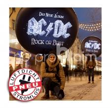 Luftdichte Sonderform mit Beleuchtung - Pneu Sonderform Donut AC/DC