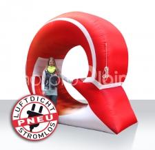 aufblasbares stromloses Werbelogo - Pneu Sonderform Logo Q