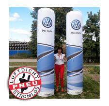 Pneu Säule VW (aufblasbar, luftdicht, geräuschlos)