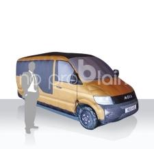 aufblasbarer Promotionstand - aufblasbares Auto VW